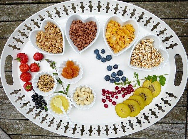 Varios Alimentos veganos