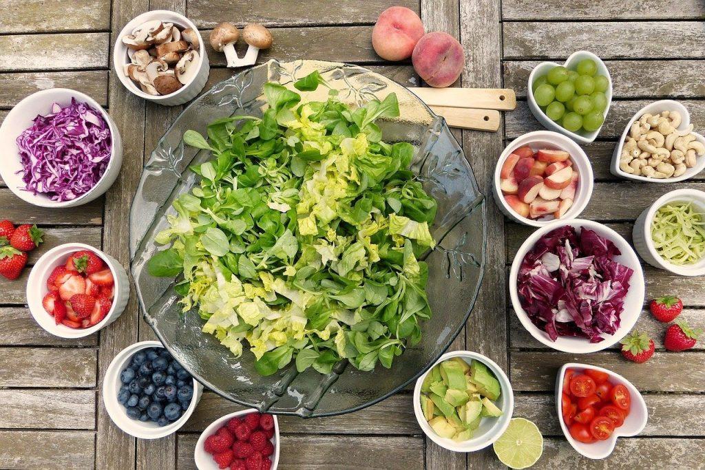 Ingredientes ensalada vegana - Provegano