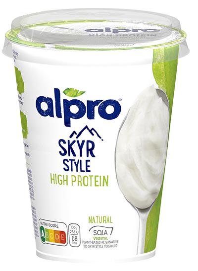 yogur skyr vegetal Alpro
